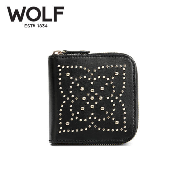 [울프 WOLF] 308502 (Marrakesh Travel Case Black) / 보석함 Jewel Box 타임메카