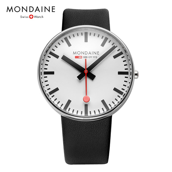 [몬데인시계 MONDAINE] MSX.4211B.LB / Giant BackLight 42mm (A660.30328.11SBB 신형)