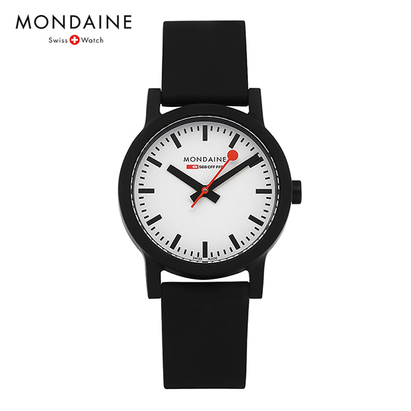 [몬데인시계 MONDAINE] MS1.32110.RB / Swiss Railways Essence 32mm 타임메카