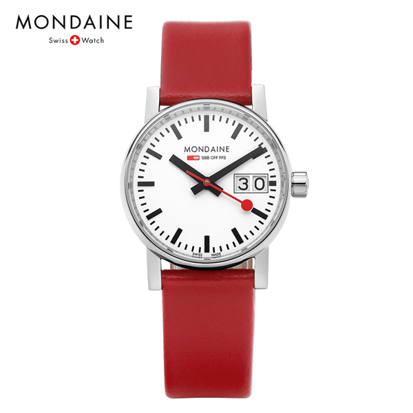 [몬데인시계 MONDAINE] MSE.30210.LC / Evo2 Big Date 30mm 타임메카