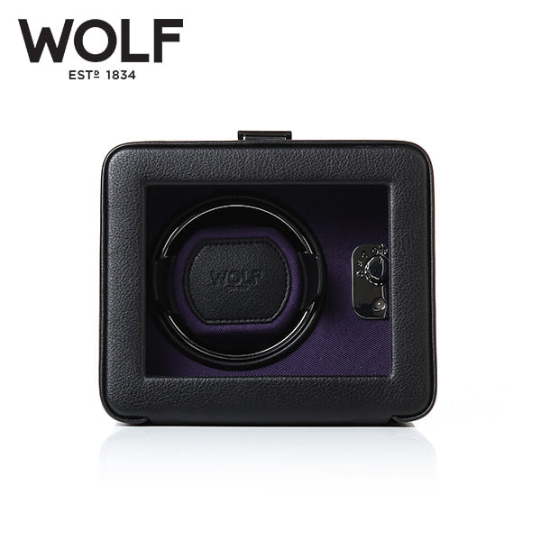[울프 WOLF] 452503 (Windsor Single Winder w/ Cover) / 워치와인더 Watch Winder 타임메카
