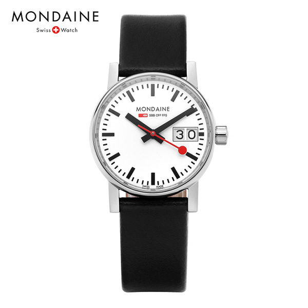 [몬데인시계 MONDAINE] MSE.30210.LB / Evo2 Big Date 30mm 타임메카