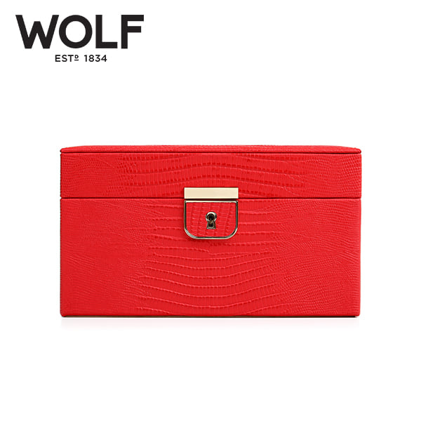 [울프 WOLF] 213193 (Palermo Small Box Coral) / 보석함 Jewel Box 타임메카