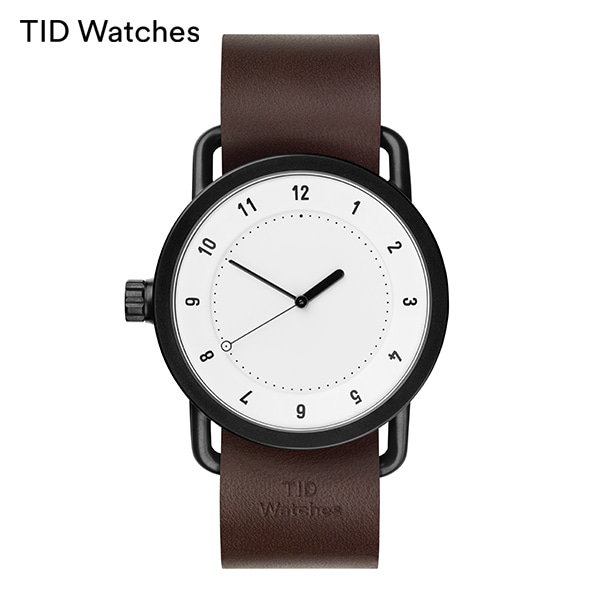 [티아이디 TID] No.1 White / Walnut Leather 40mm,36mm 남여공용시계