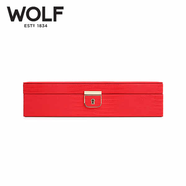 [울프 WOLF] 213293 (Palermo Medium Box Coral) / 보석함 Jewel Box 타임메카