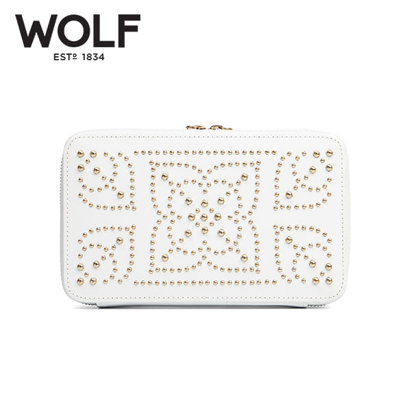 [울프 WOLF] 308653 (Marrakesh Zip Case Cream) / 보석함 Jewel Box 타임메카
